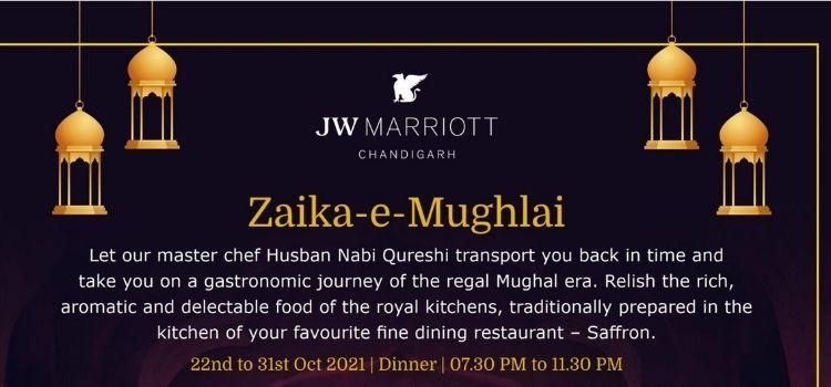 Zaika-E-Mughlai Fest At Saffron JW Marriott