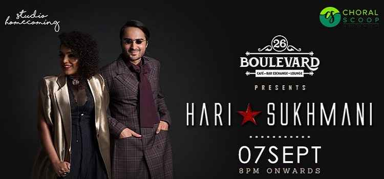 26 Boulevard Presents Hari Sukhmani