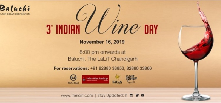 3rd Indian Wine Day At The Lalit Chandigarh