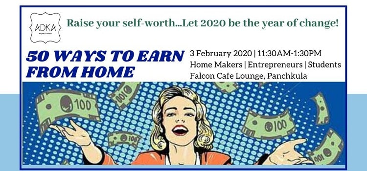 Learn 50 Ways to Earn from Home At Falcon Cafe