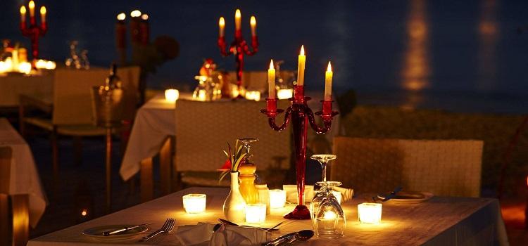 Romantic Candle Light Dinner In Chandigarh Restaurants