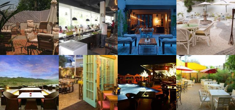 8 Outdoor Cafes in Chandigarh