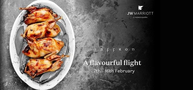 A Flavourful Flight Delight At Saffron JW Marriott