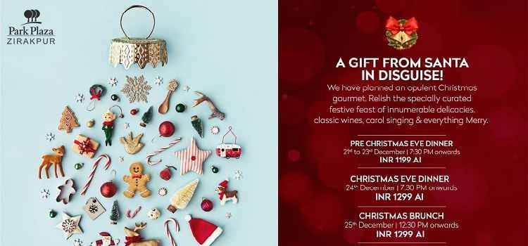 A Gift From Santa In Disguise- Christmas Celebration At Park Plaza, Zirakpur