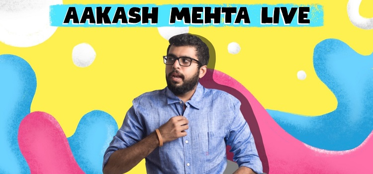 Aakash Mehta Live At Laugh Club Chandigarh
