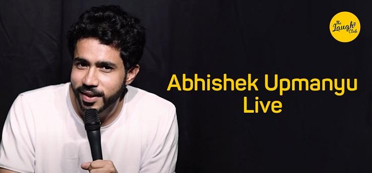 Abhishek Upmanyu Live At Laugh Club Chandigarh