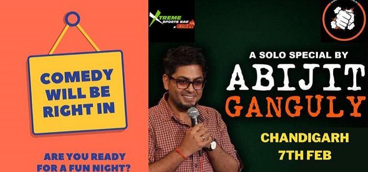 Abijit Ganguly Live At Xtreme In Chandigarh