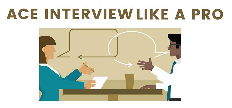 Ace Interviews like a Pro Workshop