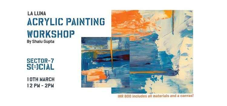 Acrylic Painting Workshop with Shalu Gupta