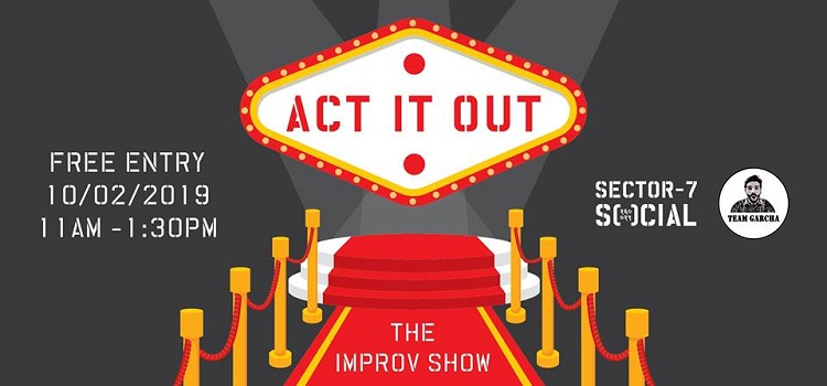 Act It Out: The Improv Show At Sector 7 Social