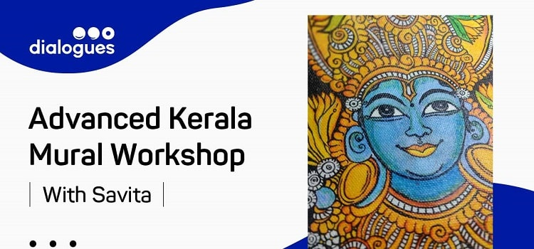 Advanced Kerala Mural With Savita