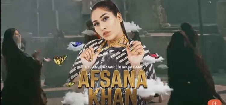 Afsana Khan Live At Mobe Elante Chandigarh