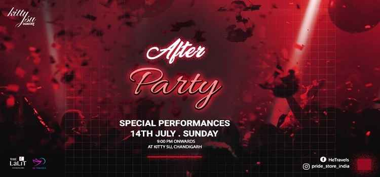 After Party at Kitty Su The Lalit