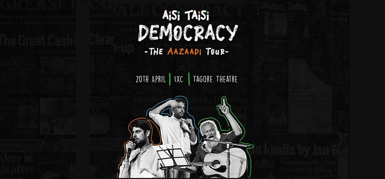 Aisi Taisi Democracy: The Aazaadi Tour 2019
