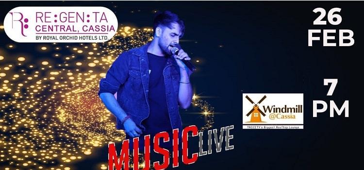 Ajay Grewal Live At Regenta Central Cassia Zirakpur