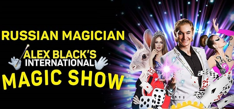 Alex Black's International Online Magic Show by Online Events