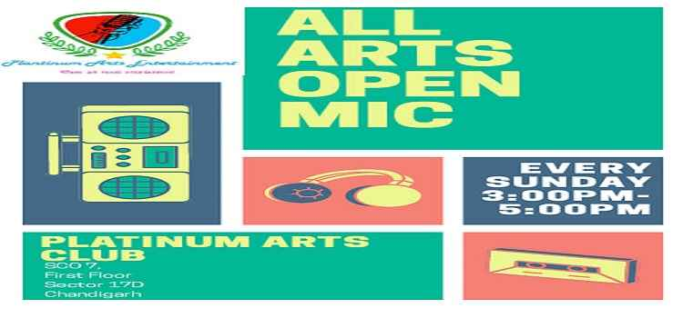 All Arts Open Mic Vol. 27 In Chandigarh