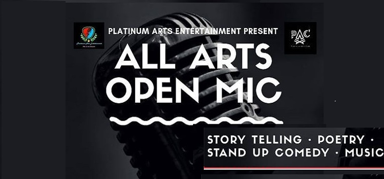 All Arts Open Mic Happening In Chandigarh by Platinum Arts Club