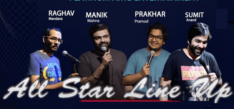 Standup Comedy - All Star Line Up In Chandigarh