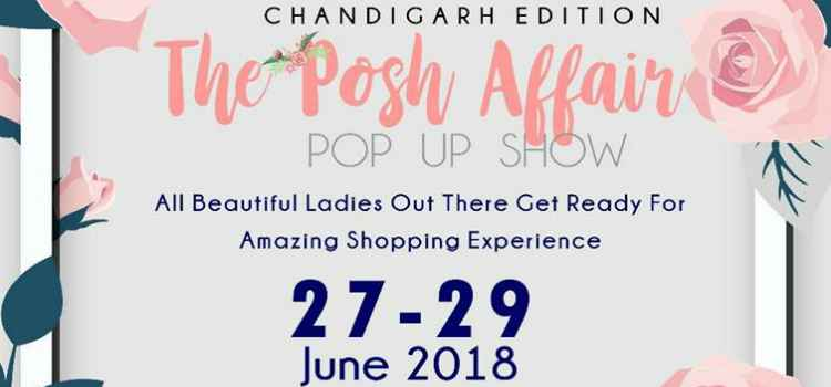 All The Ladies Out There Get Ready For An Amazing Shopping Experience At The Posh Affair, Chandigarh!