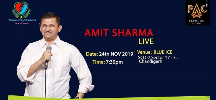 Amit Sharma Comedy Live In Chandigarh