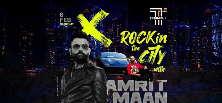 Amrit Maan Live At Terminal 7 Chandigarh
