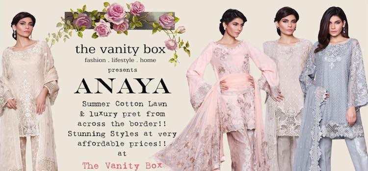 Get Your Shopping Bags Ready As ANAYA Comes To The Vanity Box
