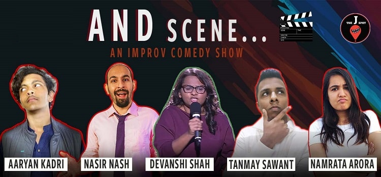 And Scene… an Improv Online Comedy Show