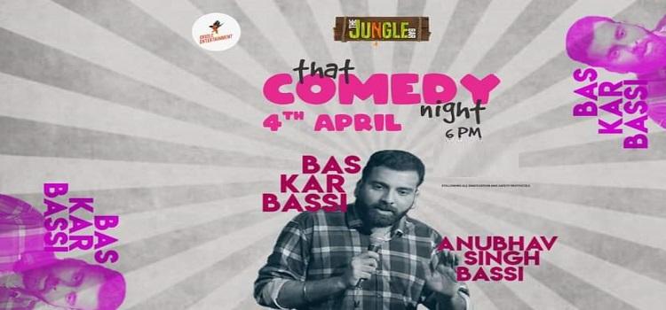 Anubhav Singh Bassi Live At Jungle Bar Chandigarh