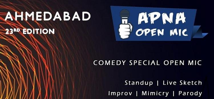 Apna Open Mic At The Shake Maker In Ahmedabad
