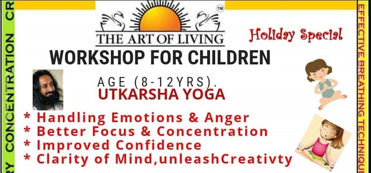 Art Of Living Workshop For Children In Chandigarh