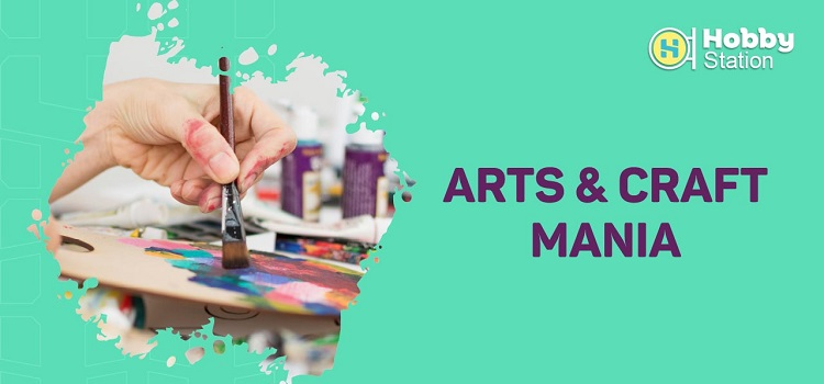 Arts & Craft For Kids By Hobbystation by Online Events