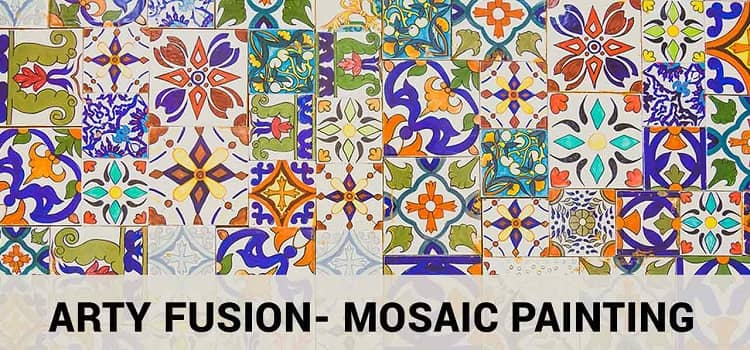 Arty Fusion-  Online Mosaic Painting