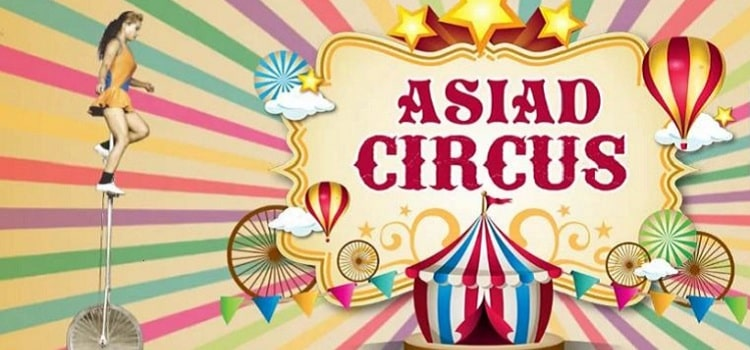 Asiad Circus At Lal Bagh Palace In Indore