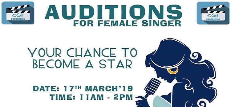 Auditions for Female Singer At Fitdance Studio