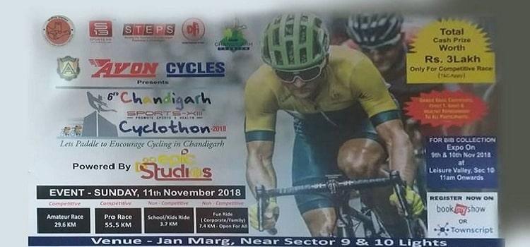 Avon Cycles : 6th Chandigarh Cyclothon 2018