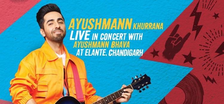 Ayushmann Khurrana Live At Elante Mall Chandigarh