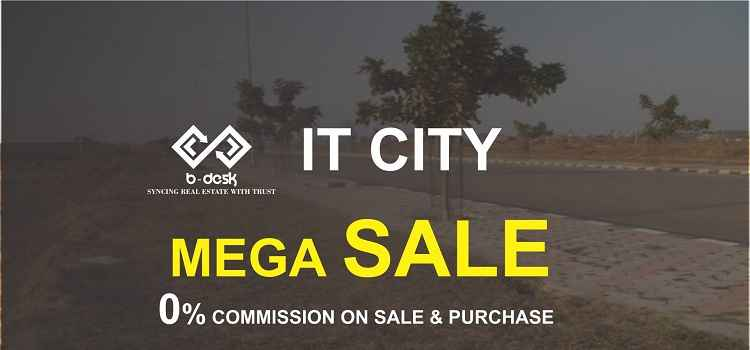Plot For Sale In IT City At 0% Commission