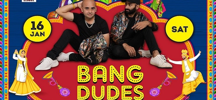 Bang Dudes Live At Mobe Elante Chandigarh