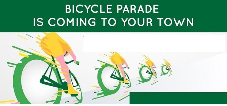 Bicycle Parade 2020 In Chandigarh by Chandigarh city