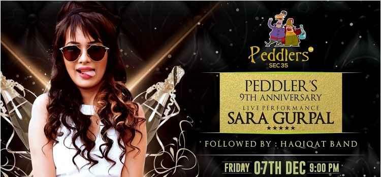 Big Star Night With Sara Gurpal At Peddlers, Chandigarh!
