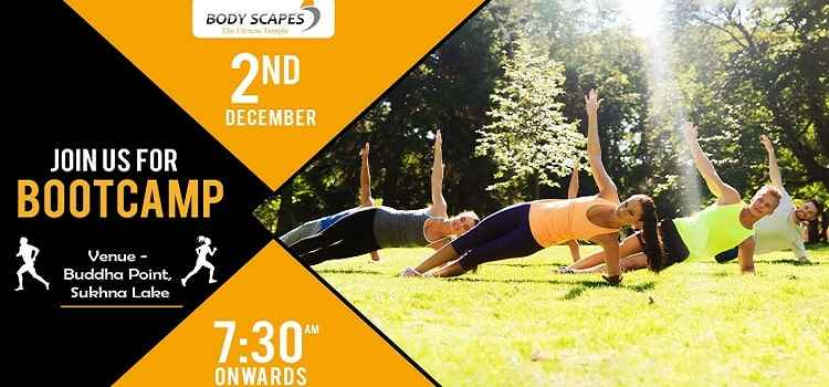 Bodyscapes Boot Camp At Garden Of Silence, Chandigarh