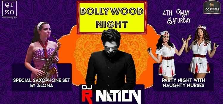 Bollywood Night Ft. R Nation At Qizo