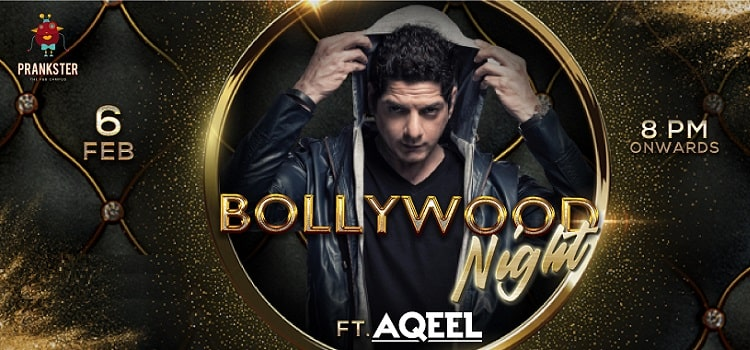 Bollywood Night Ft.Aqeel At Prankster Chandigarh