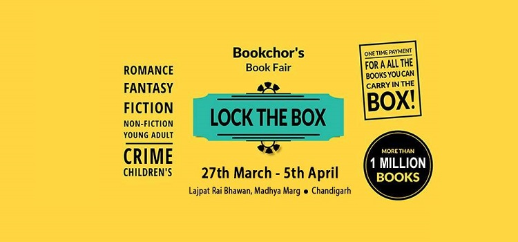 Bookchor's Book Fair In Chandigarh by Lajpat Rai Bhawan Chandigarh