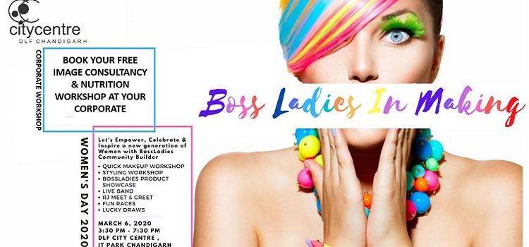 Boss Ladies In Making At Dlf Mall Chandigarh