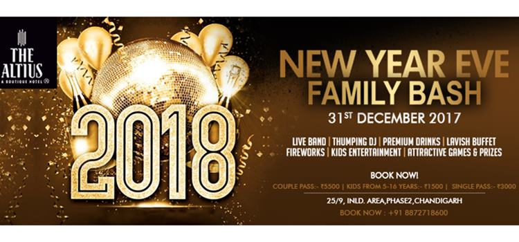 Get Ready To Celebrate Family Bash New Year Party At The Altius Hotel