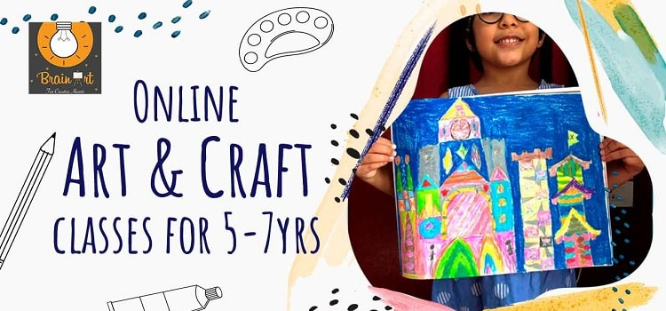 Brain Art - Online Art & Craft Kids Session