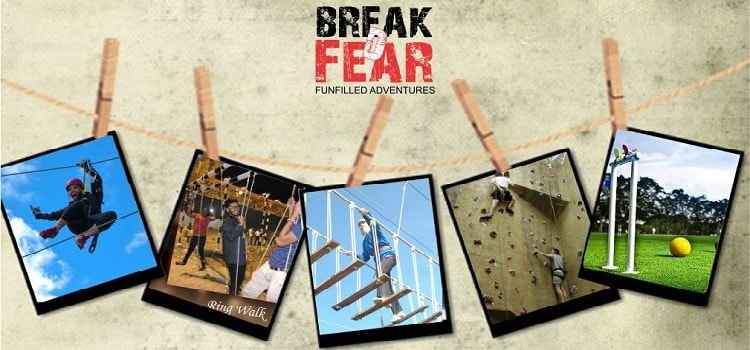 Break D Fear: Corporate Team Building Meets Adventure World!