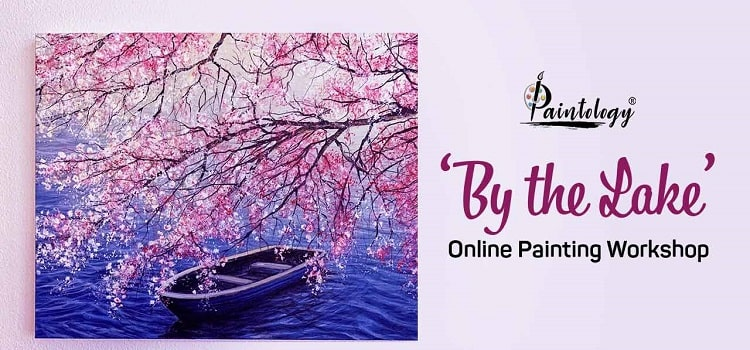 By the Lake- Online Painting Workshop